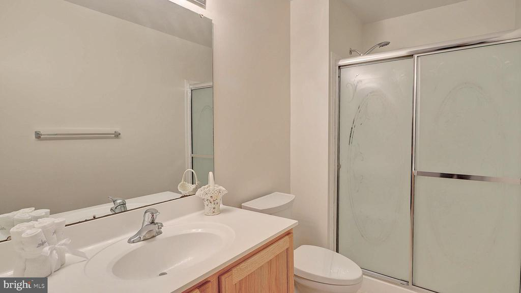 Lower Level Full Bath, shower - 43262 LECROY CIR, LEESBURG