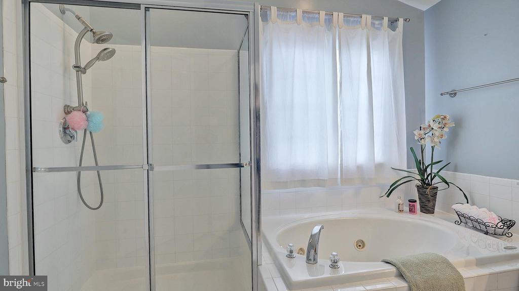 Master Bedroom Bath, separate shower - 43262 LECROY CIR, LEESBURG