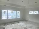 Master bedroom, tray ceiling, light, oak flooring. - 110 TAPAWINGO RD SW, VIENNA