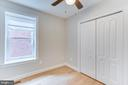 Third of four bedrooms on the second floor - 1122 6TH ST NE, WASHINGTON