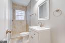 First floor full bath - 1122 6TH ST NE, WASHINGTON
