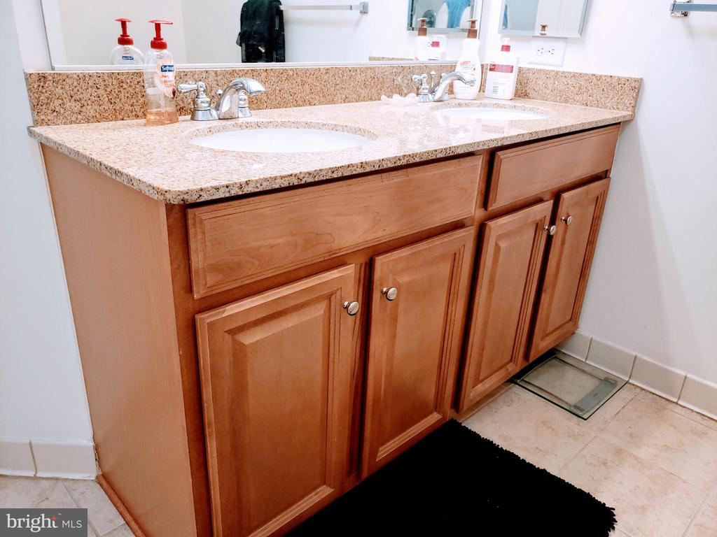 Double vanity in master bath - 24701 BYRNE MEADOW SQ #302, ALDIE