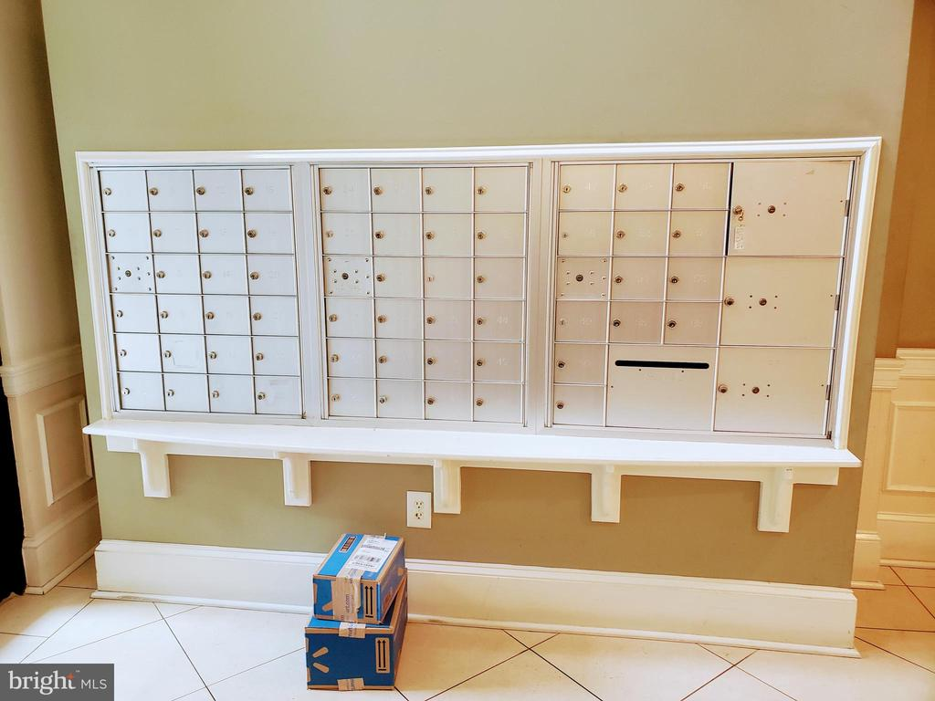 Community mailboxes - 24701 BYRNE MEADOW SQ #302, ALDIE