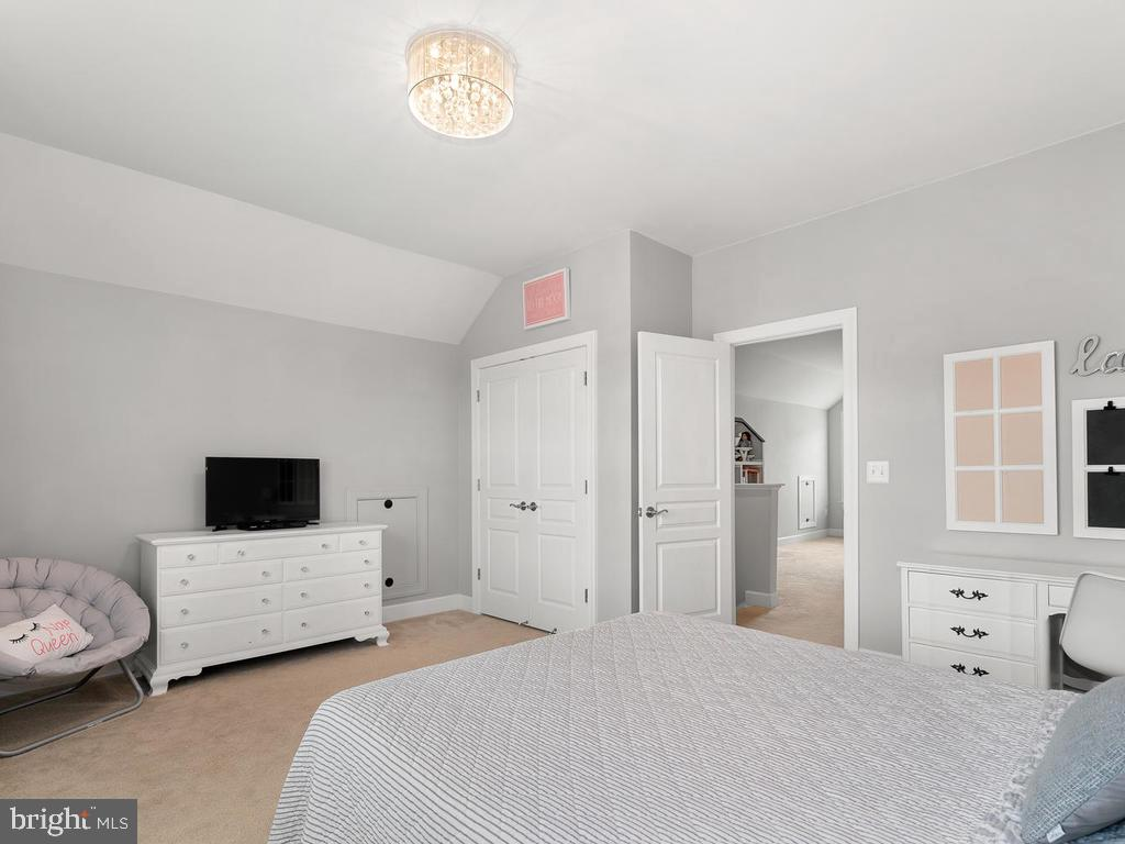 Custom build out in closet - 41532 BLAISE HAMLET LN, LEESBURG