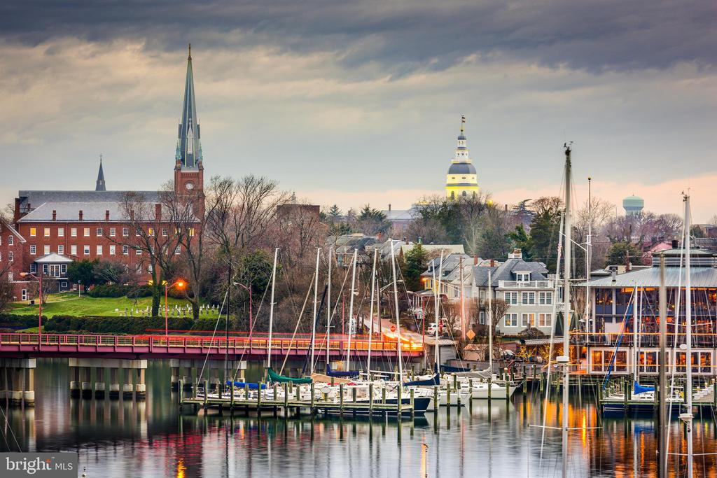 Sweeping views of the Annapolis Harbor skyline - 279 STATE ST, ANNAPOLIS