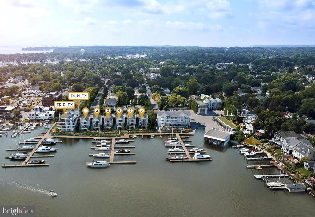 (11) Custom Residences overlooking Spa Creek - 279 STATE ST, ANNAPOLIS