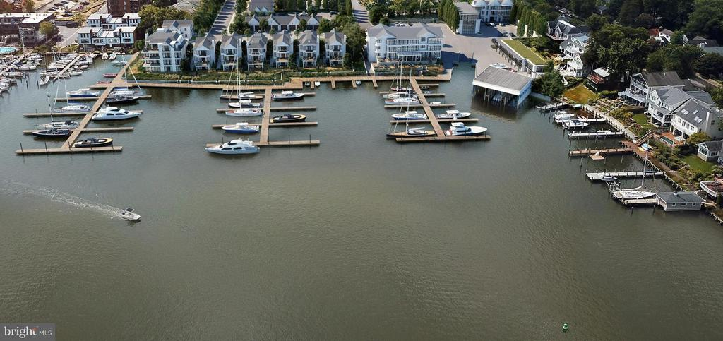 New Deep Water Marina w/ floating docks & 74 slips - 279 STATE ST, ANNAPOLIS