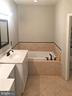 large soaking tub in Master Bath - 12222 DORRANCE CT, RESTON