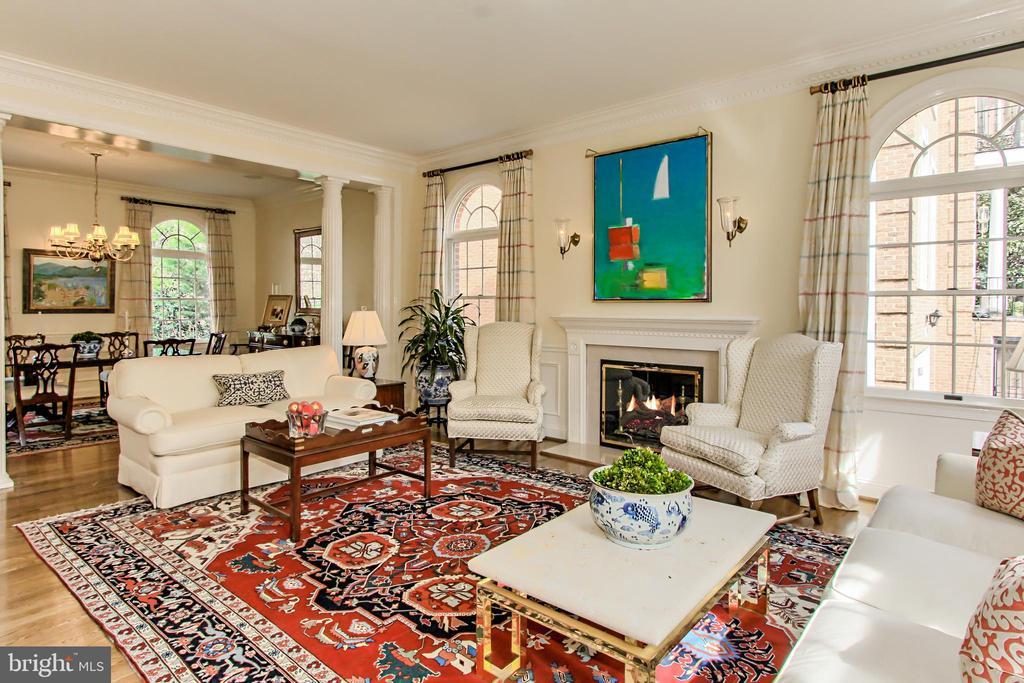 Formal Living Room - 4125 PARKGLEN CT NW, WASHINGTON