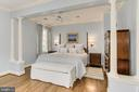 Owner's Bedroom with Tranquil Views of Glover Arch - 4125 PARKGLEN CT NW, WASHINGTON