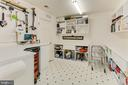 Lower Level Workshop and Crafts Room - 4125 PARKGLEN CT NW, WASHINGTON