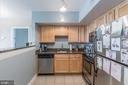 Well maintained kitchen - 1001 N RANDOLPH ST #819, ARLINGTON