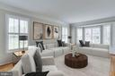Living Room - Virtual Staging - 2106 ROBIN WAY CT, VIENNA