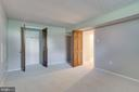 Extra room with large closet - 2106 ROBIN WAY CT, VIENNA
