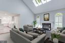 Family Room - Virtual Staging - 2106 ROBIN WAY CT, VIENNA