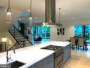 Open floor plan dining and great room view - 114 TAPAWINGO RD SW, VIENNA