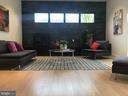 Great rm: fireplace, storage cabinets, high window - 114 TAPAWINGO RD SW, VIENNA