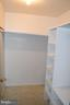 Master Bedroom Closet - 95 CLARK PATTON RD, FREDERICKSBURG