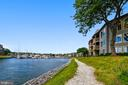 Community: Walking trail along the water. - 7016 CLINTON CT #22A, ANNAPOLIS