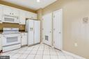 White appliances - 7016 CLINTON CT #22A, ANNAPOLIS