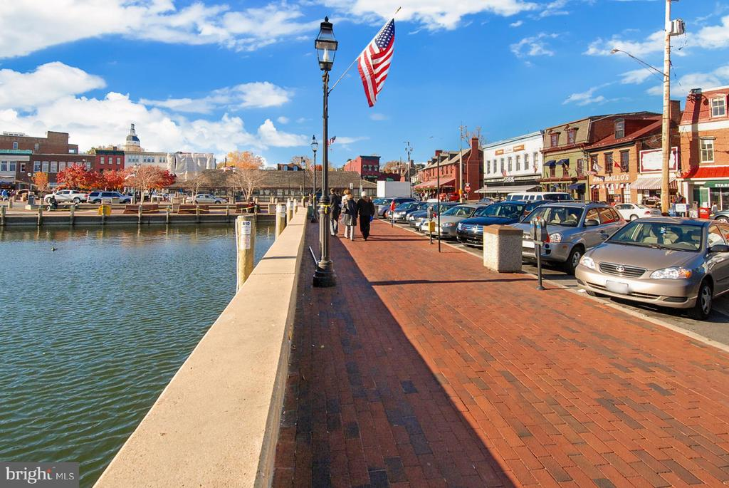Downtown Annapolis: Annapolis Harbour - 7016 CLINTON CT #22A, ANNAPOLIS