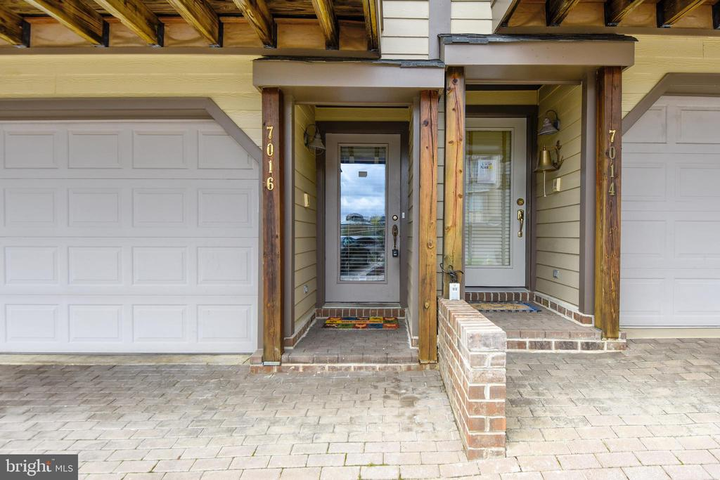 Front entrance to property. - 7016 CLINTON CT #22A, ANNAPOLIS