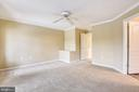 Freshly painted and new carpeting in Owner's bd. - 7016 CLINTON CT #22A, ANNAPOLIS