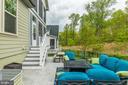Dual patios, fenced yard & irrigation system - 17109 GULLWING DR, DUMFRIES