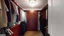 Owners closet! - 17109 GULLWING DR, DUMFRIES
