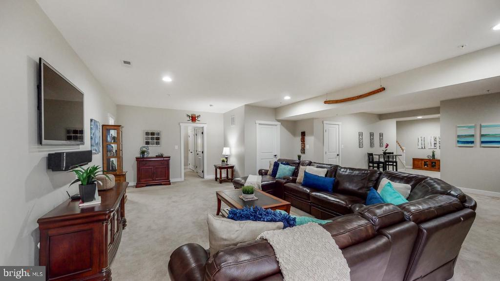 The rec room - 17109 GULLWING DR, DUMFRIES