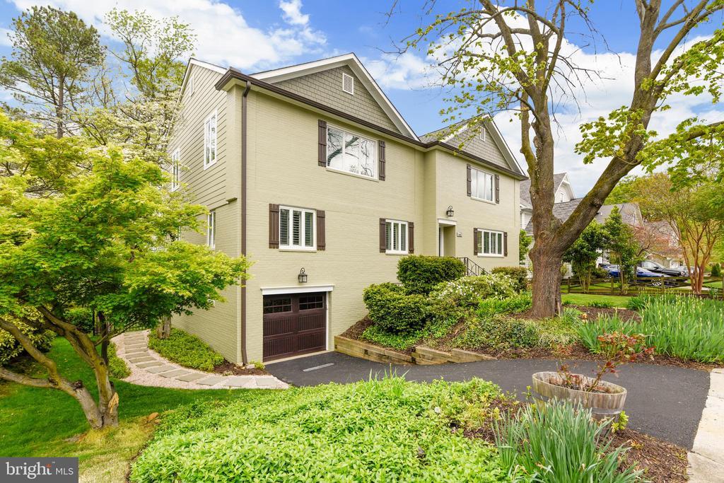 New outdoor light fixtures and driveway - 3425 N RANDOLPH ST, ARLINGTON