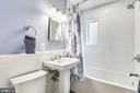 Hall bath - 3425 N RANDOLPH ST, ARLINGTON