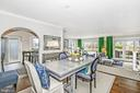 Formal dining  that can seat 12 people - 12 SPA CREEK LNDG #A, ANNAPOLIS