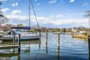 Two deeded boat slips in front of condo - 12 SPA CREEK LNDG #A, ANNAPOLIS