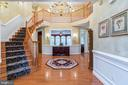 Grand two-story foyer - 20 WINDSONG WAY, STAFFORD