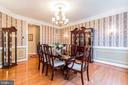 Spacious formal dining room - 20 WINDSONG WAY, STAFFORD
