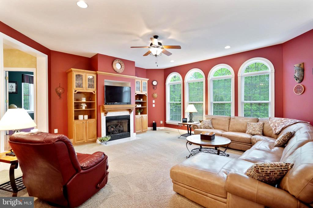 Gorgeous windows in family room - 20 WINDSONG WAY, STAFFORD