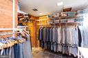 Lower level cedar closet - 1020 MONROE ST, HERNDON
