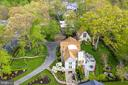 Aerial  view of house - 1020 MONROE ST, HERNDON