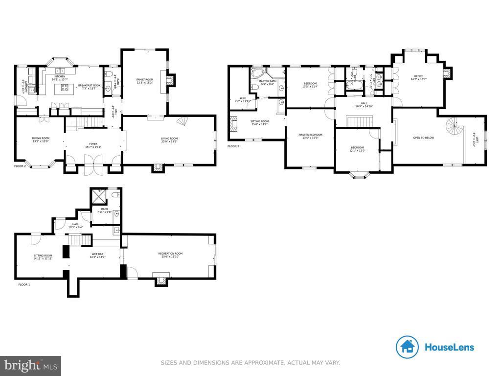 All floor plans - 1020 MONROE ST, HERNDON