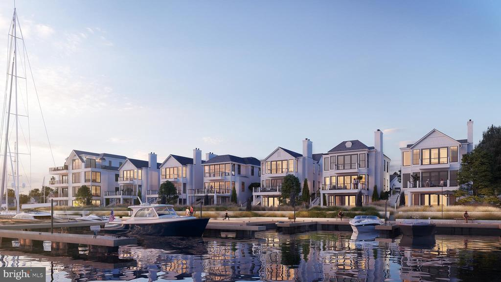 Exclusive waterfront living w/ contemporary design - 289 STATE ST #4, ANNAPOLIS