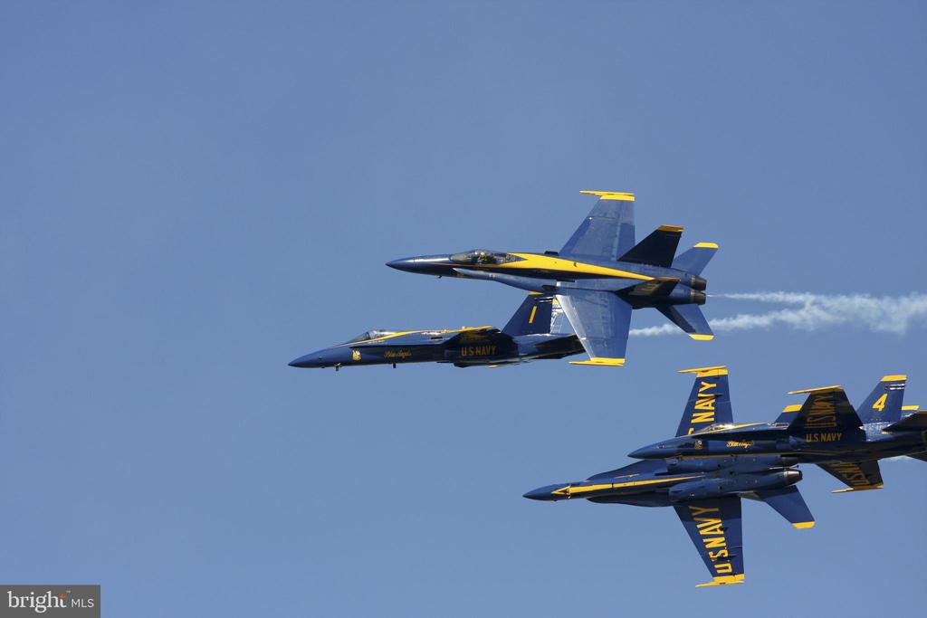SAYC is the premier vista to enjoy the Blue Angels - 289 STATE ST #4, ANNAPOLIS