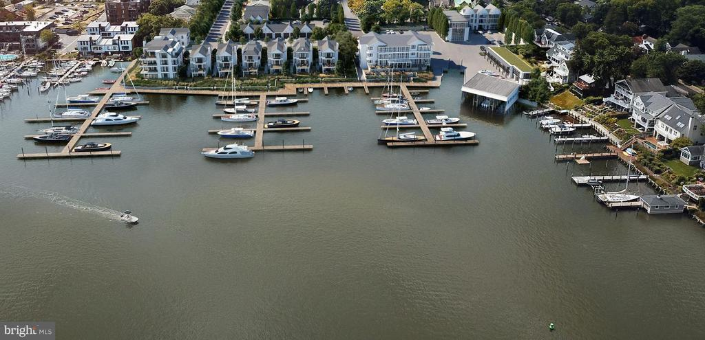 New Deep Water Marina w/ floating docks & 74 slips - 289 STATE ST #4, ANNAPOLIS