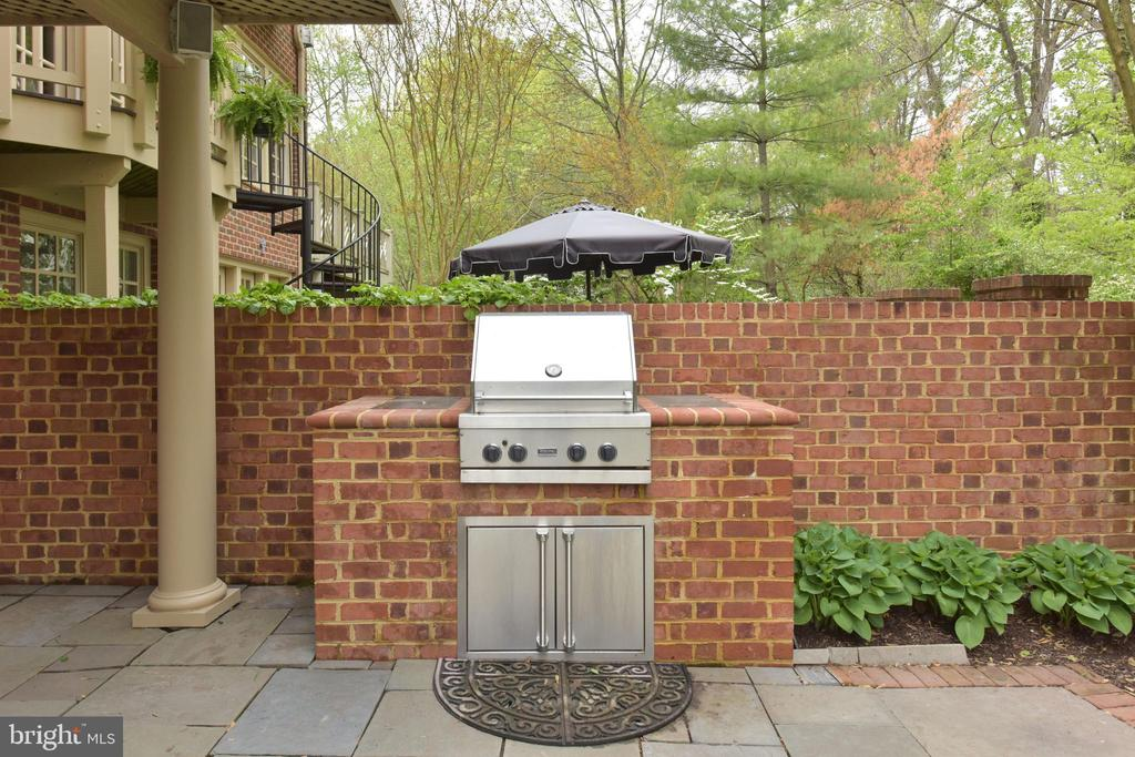 Buiilt in Gas Grill  for Outdoor Cooking - 3823 N RANDOLPH CT, ARLINGTON
