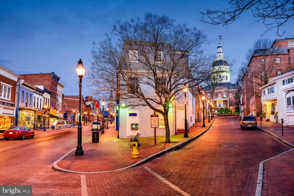 Savor the historic charm of downtown Annapolis - 287 STATE ST #1, ANNAPOLIS