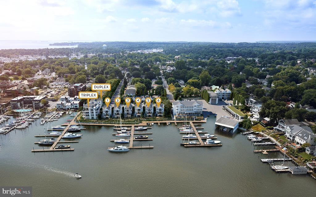 (11) Custom Residences overlooking Spa Creek - 287 STATE ST #1, ANNAPOLIS