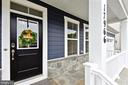 Front Porch living, upgraded stone! - 17966 WOODS VIEW DR, DUMFRIES