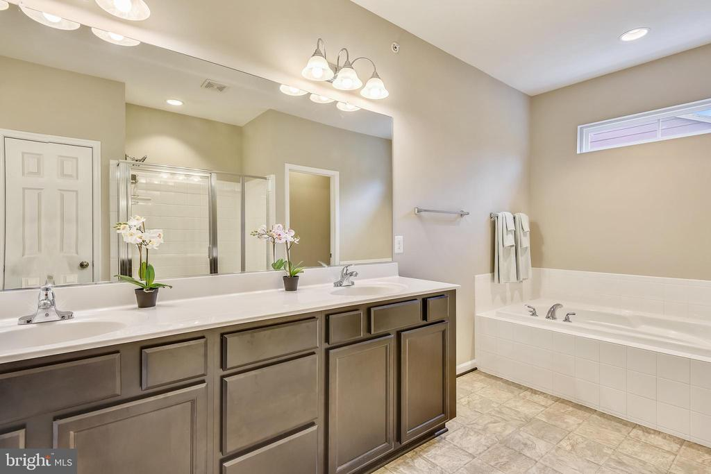 Relax in your tub in this spa like Master bath! - 17966 WOODS VIEW DR, DUMFRIES