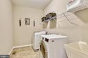 Large Laundry with sink upstairs, How CONVENIENT! - 17966 WOODS VIEW DR, DUMFRIES