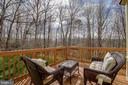 Deck and View - 4257 MOOT DR, DUMFRIES